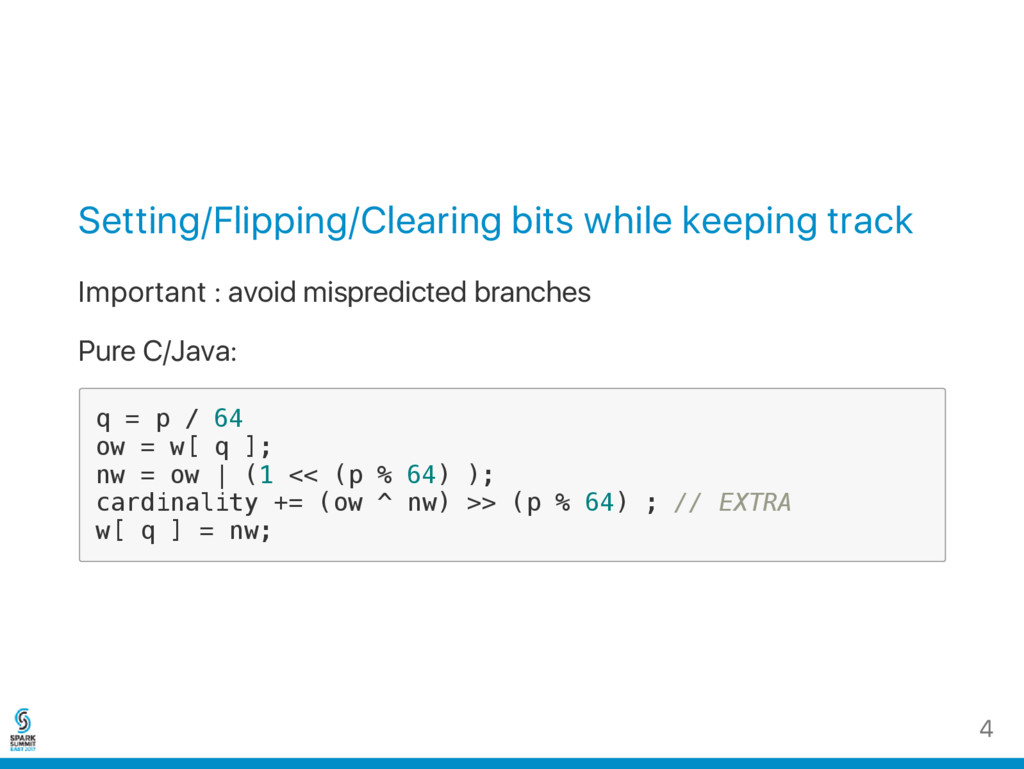 Setting/Flipping/Clearing bits while keeping tr...