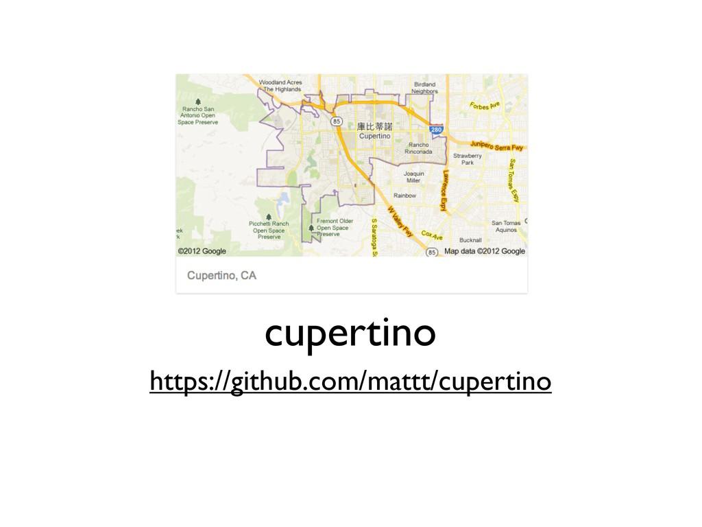 https://github.com/mattt/cupertino cupertino