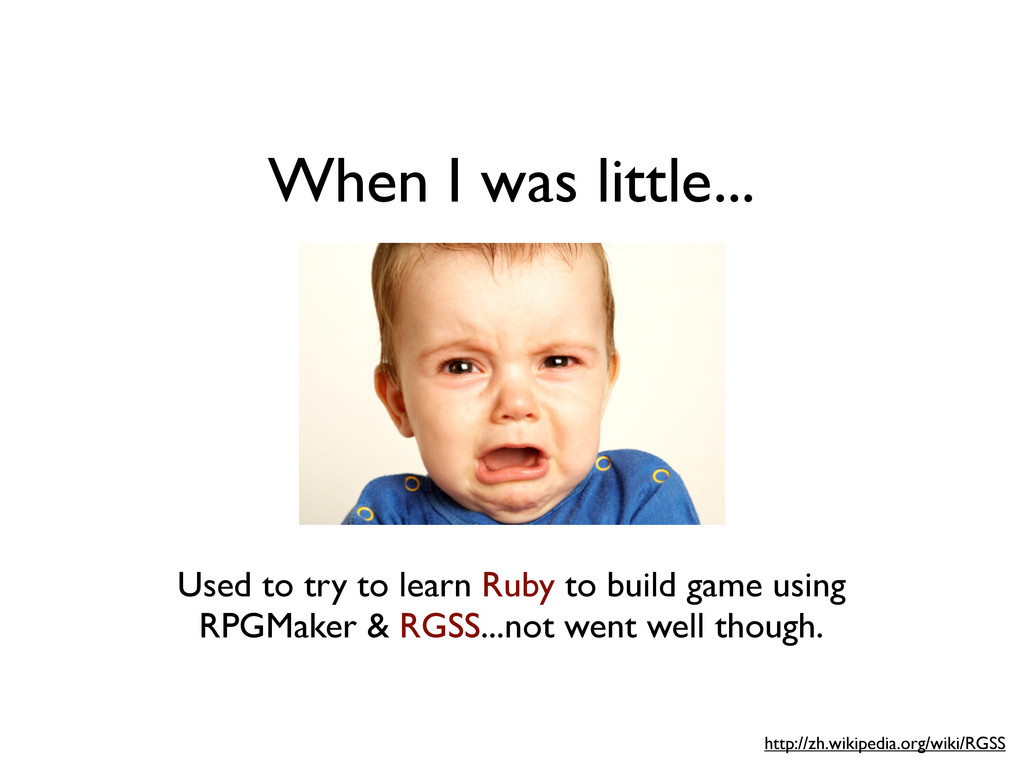 Used to try to learn Ruby to build game using R...
