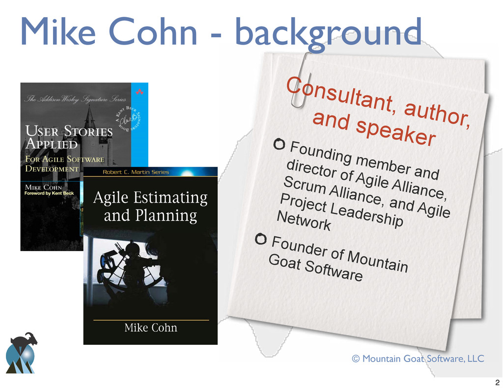 Founding member and director of Agile Alliance,...