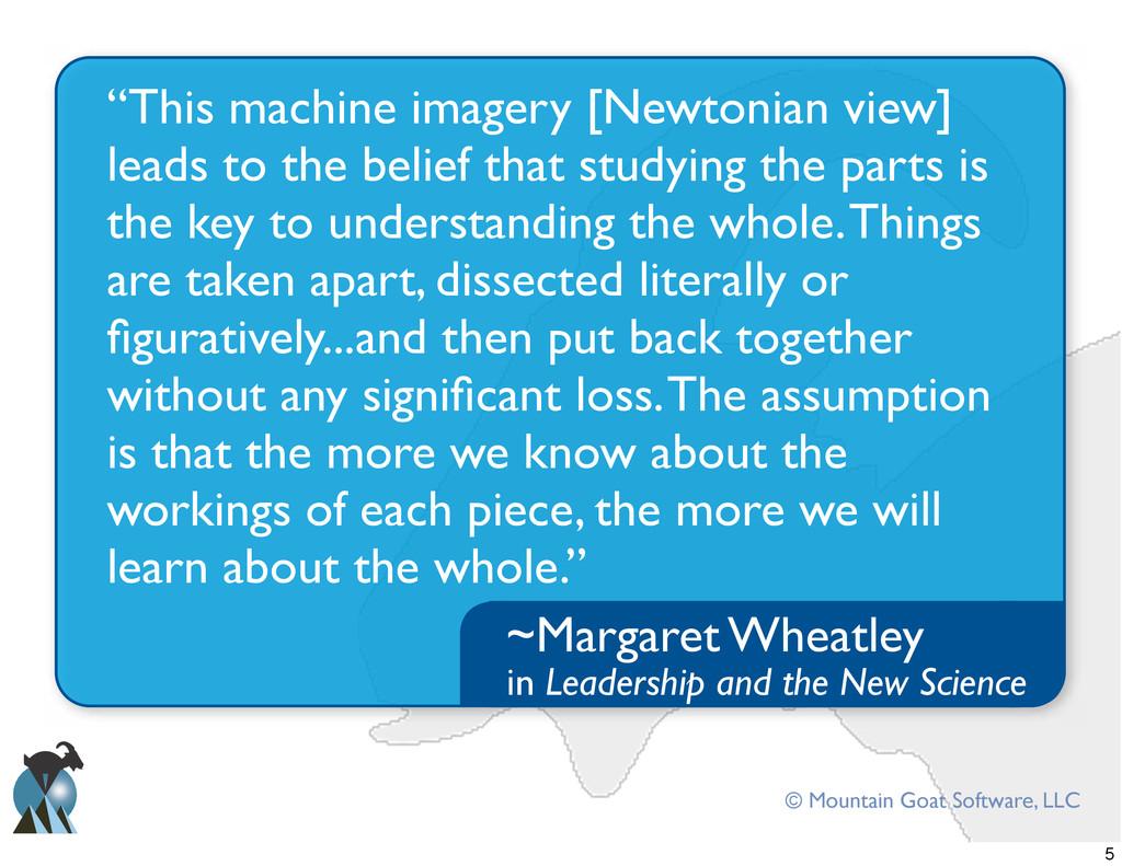 "© Mountain Goat Software, LLC ""This machine ima..."