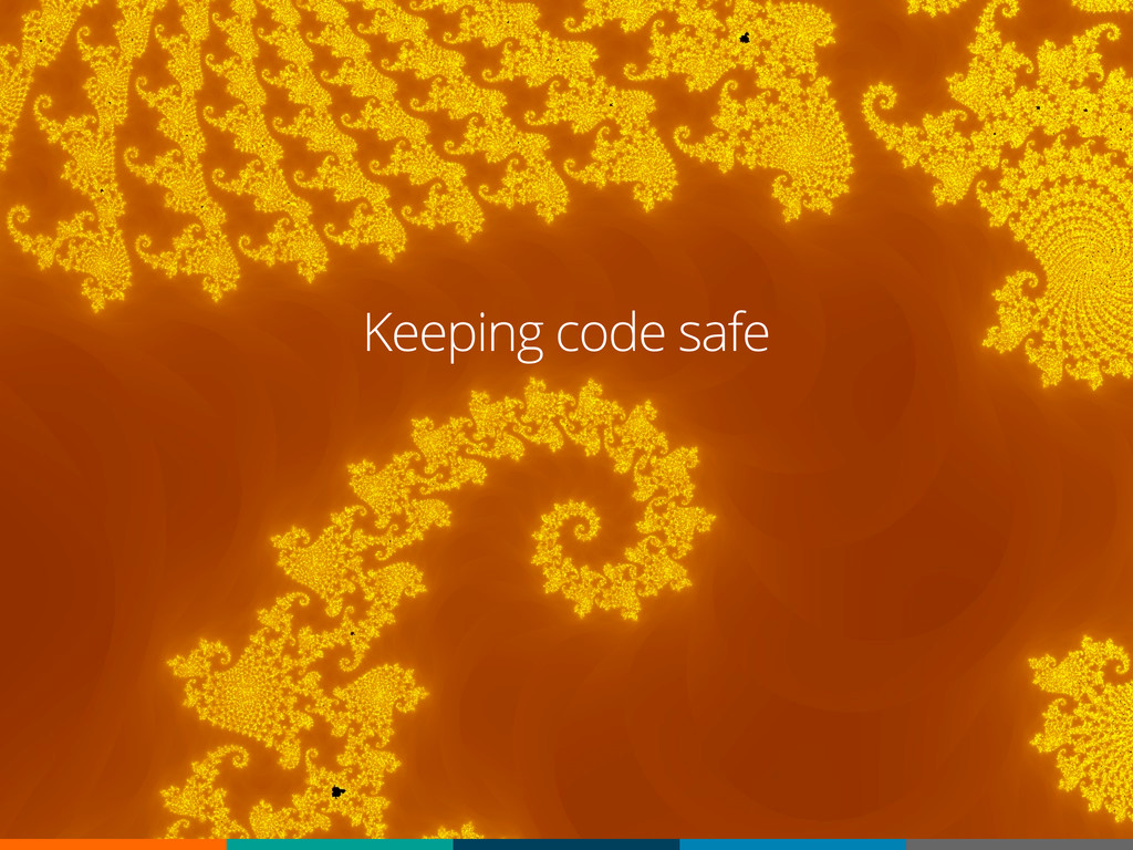 Keeping code safe