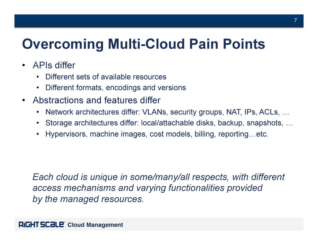 # 7 Cloud Management! # 7 Overcoming Multi-Clou...