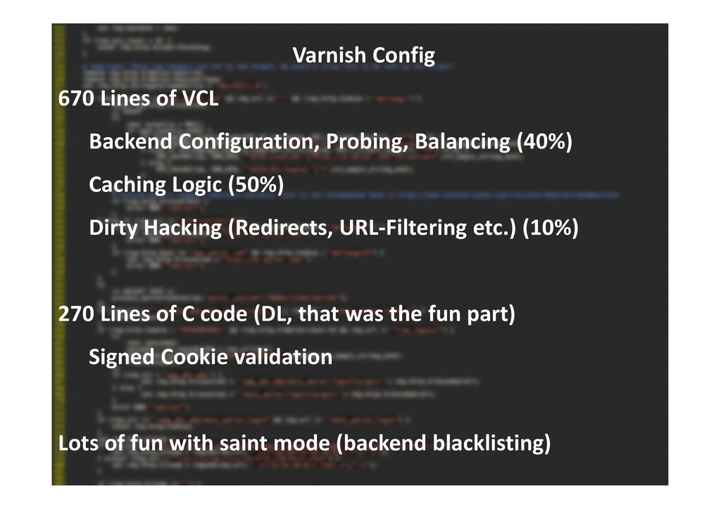 Varnish Config 670 Lines of VCL Backend Configu...
