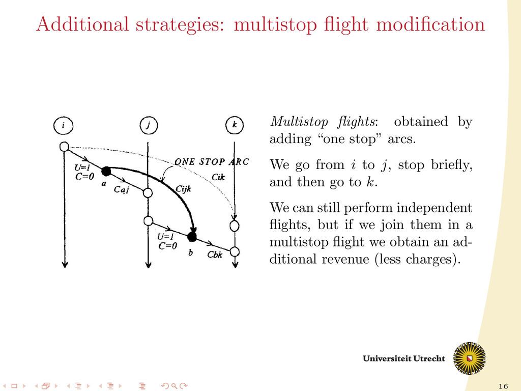16 Additional strategies: multistop flight modifi...