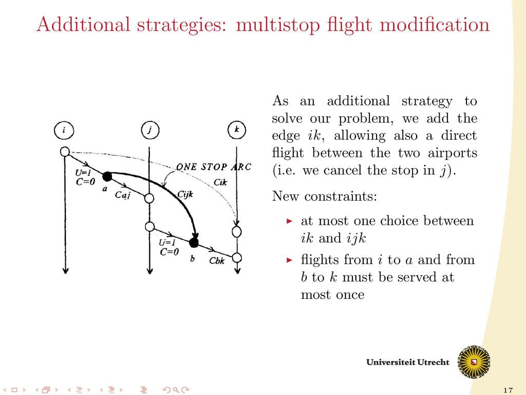 17 Additional strategies: multistop flight modifi...