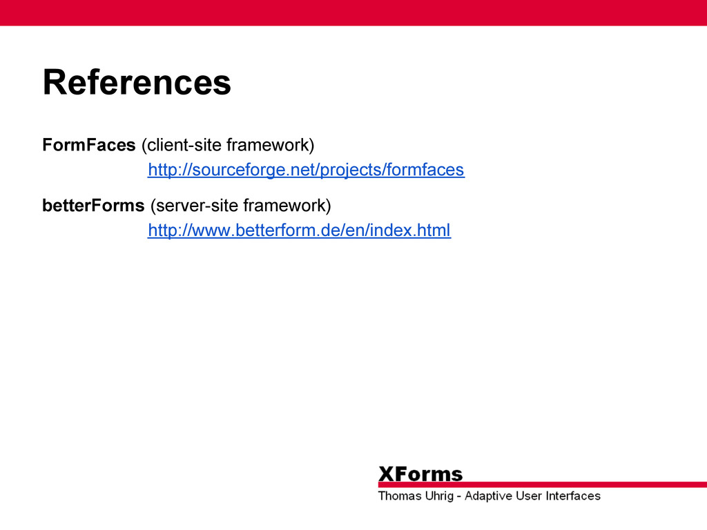 References FormFaces (client-site framework) ht...