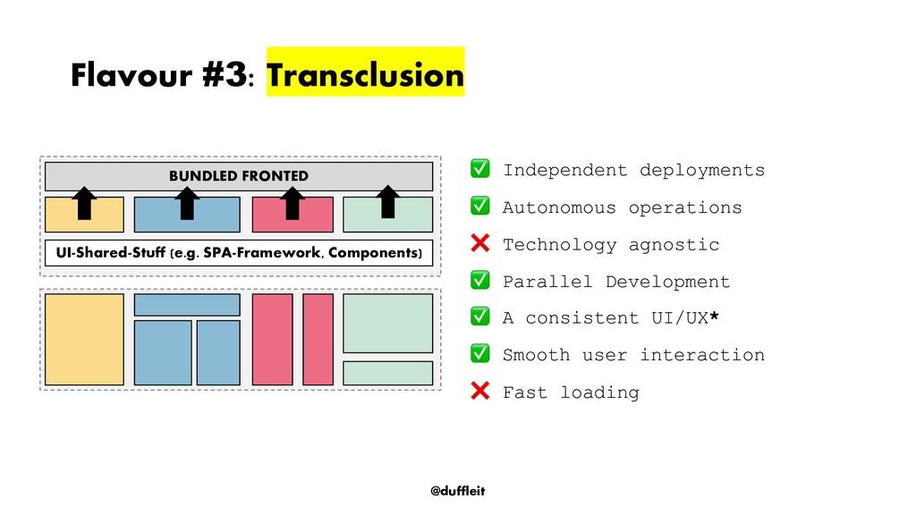 @duffleit Flavour #3 : Transclusion Independent...