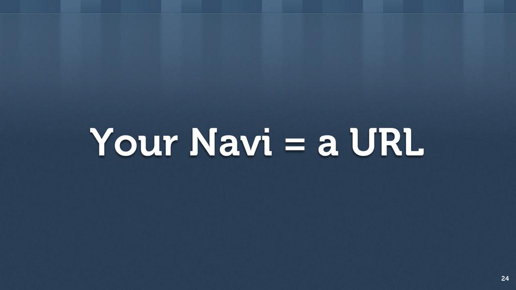 Your Navi = a URL 24