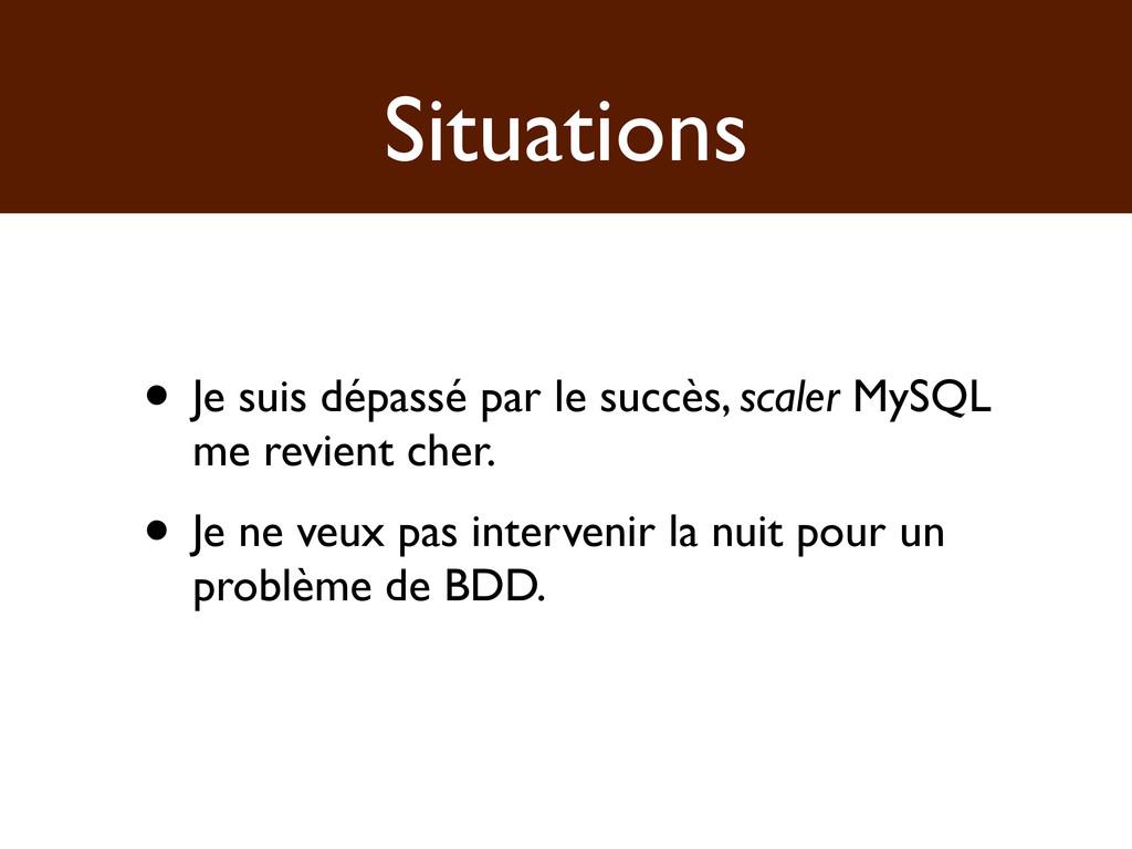 Situations • Je suis dépassé par le succès, sca...