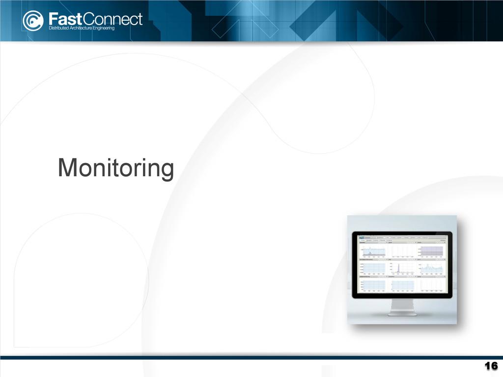 16 Monitoring