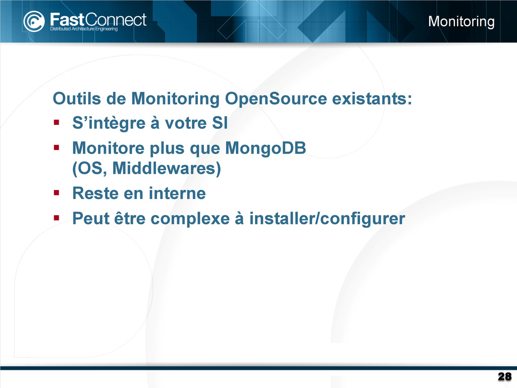 Outils de Monitoring OpenSource existants: § ...