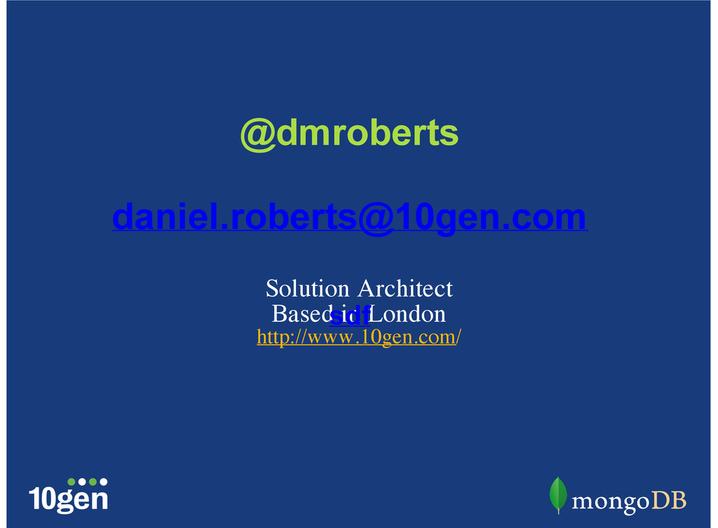 Solution Architect Based in London http://www.1...