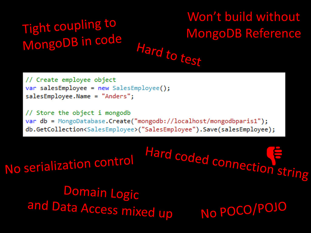 Won't build without MongoDB Reference