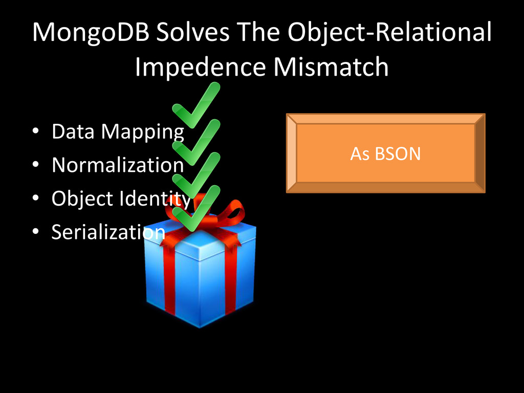 MongoDB Solves The Object-Relational Impedence ...