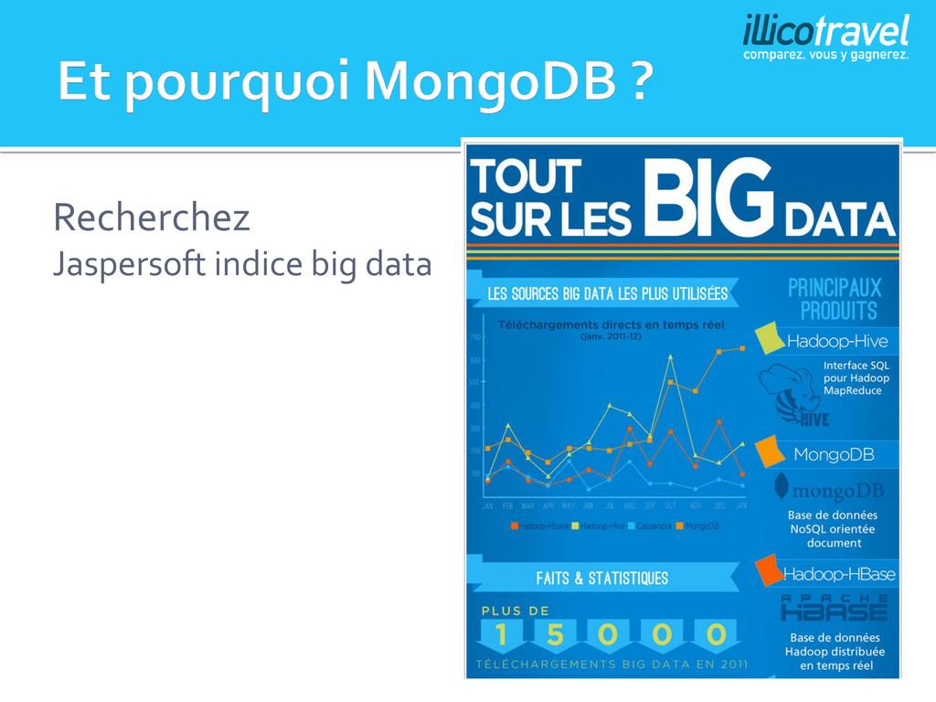 Recherchez Jaspersoft indice big data