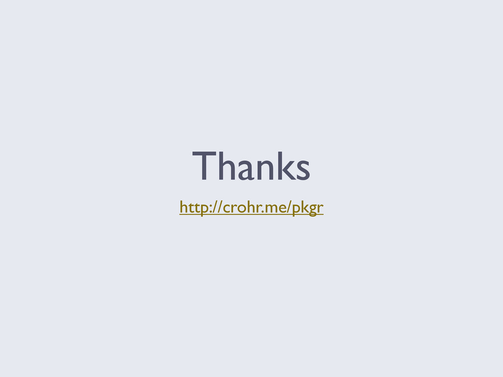 Thanks http://crohr.me/pkgr