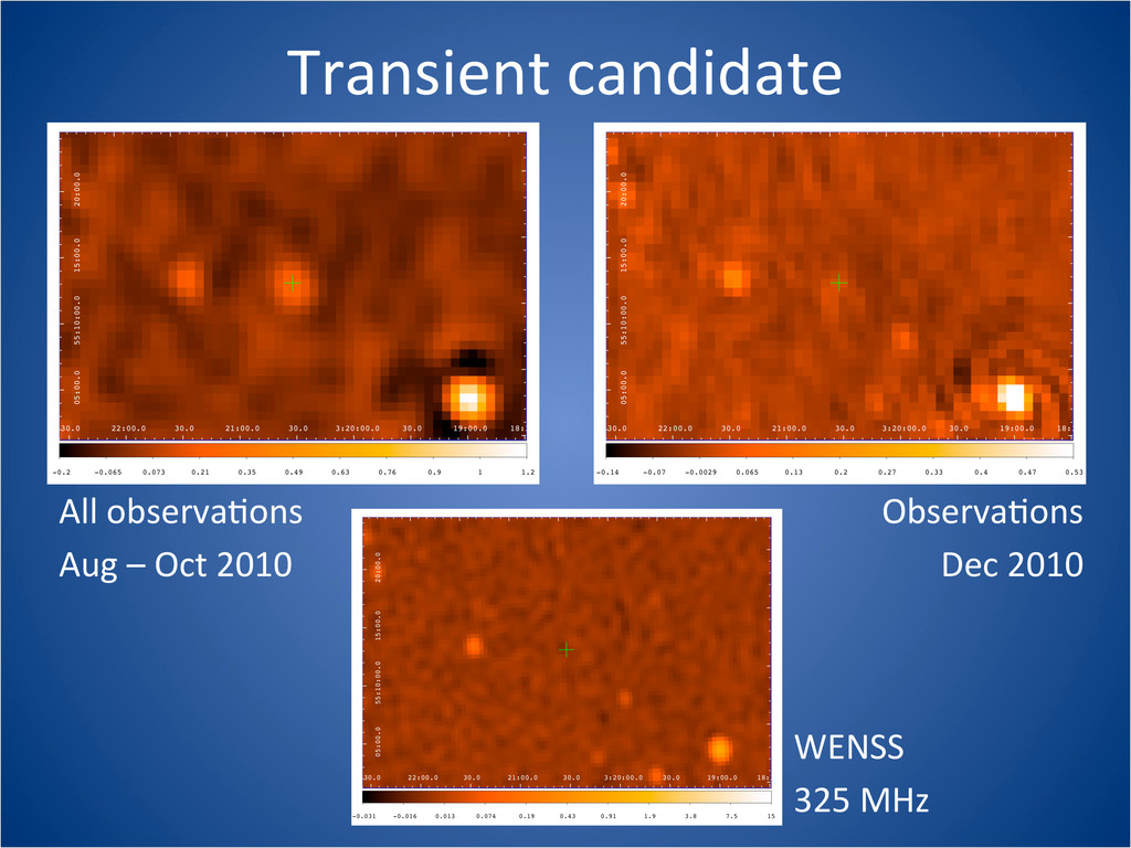 Transient candidate All observaCons Aug...
