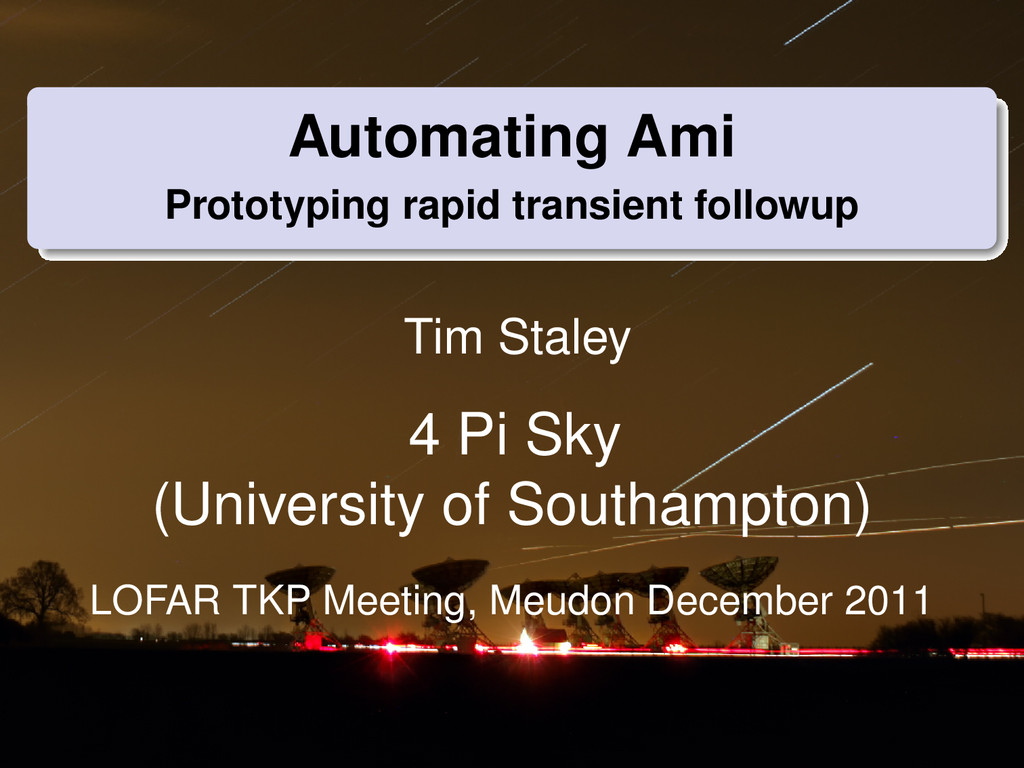 Automating Ami Prototyping rapid transient foll...