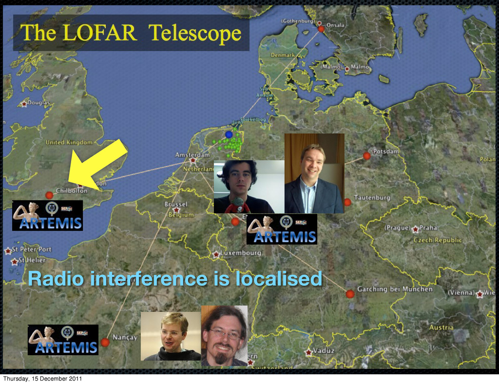 Radio interference is localised Thursday, 15 De...