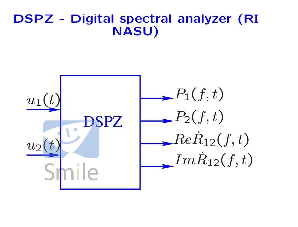 DSPZ - Digital spectral analyzer (RI NASU) DSPZ...