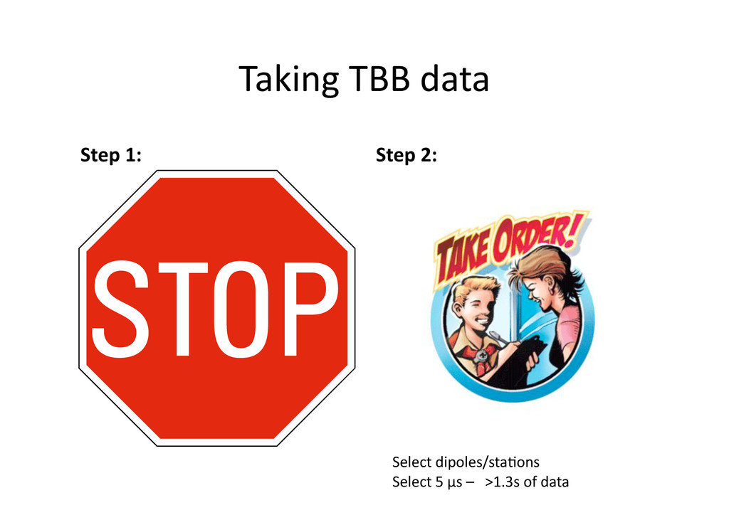 Taking