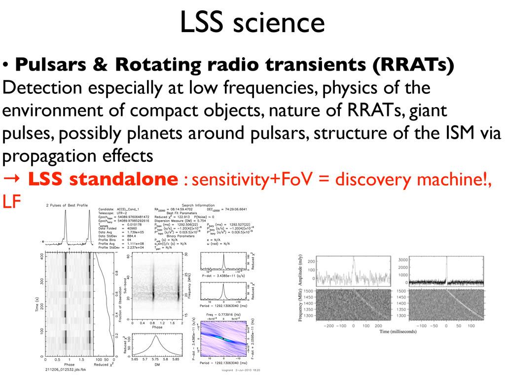 • Pulsars & Rotating radio transients (RRATs) D...