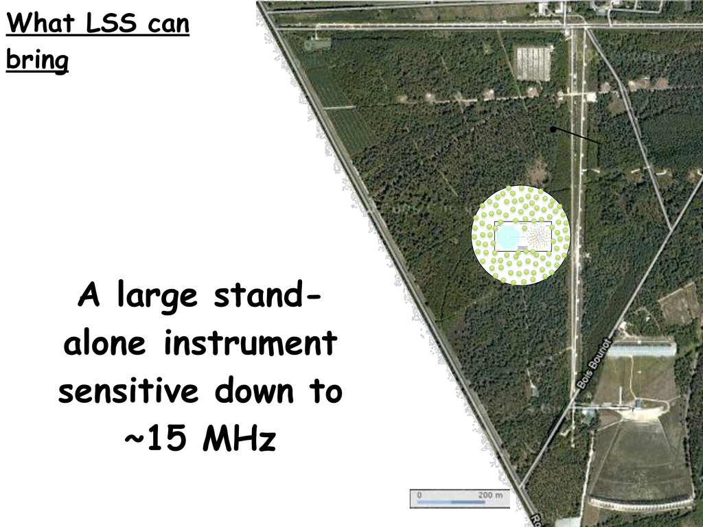 A large stand- alone instrument sensitive down ...