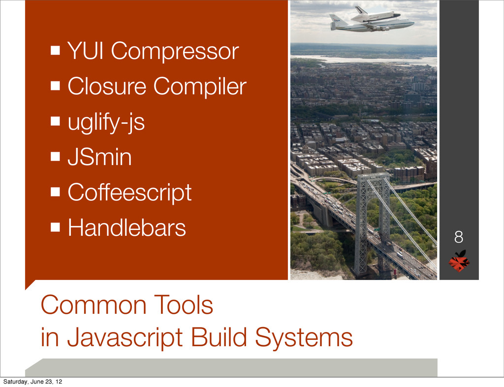 Common Tools in Javascript Build Systems ■ YUI ...