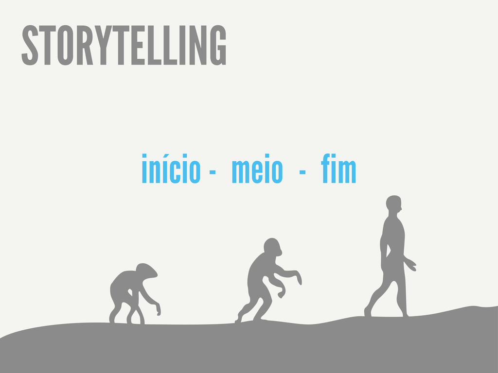 STORYTELLING início - meio - fim