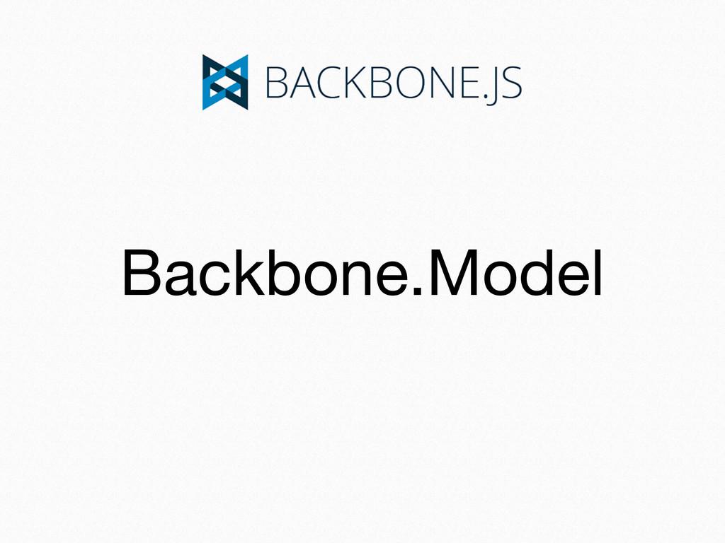 Backbone.Model
