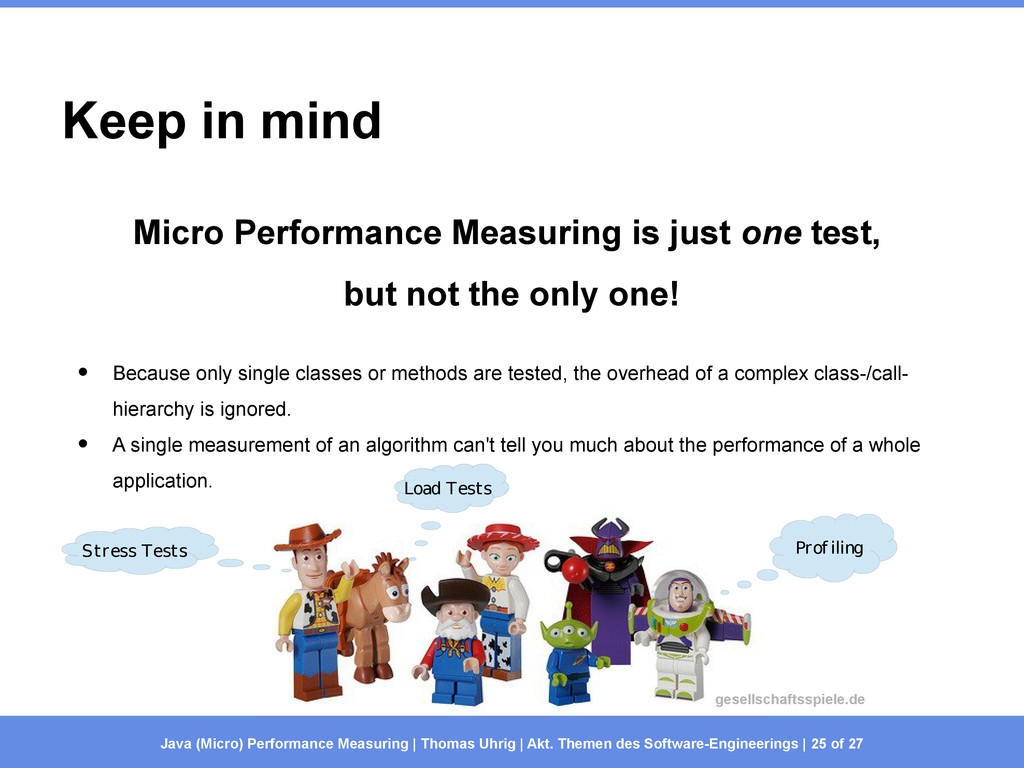 Keep in mind Micro Performance Measuring is jus...