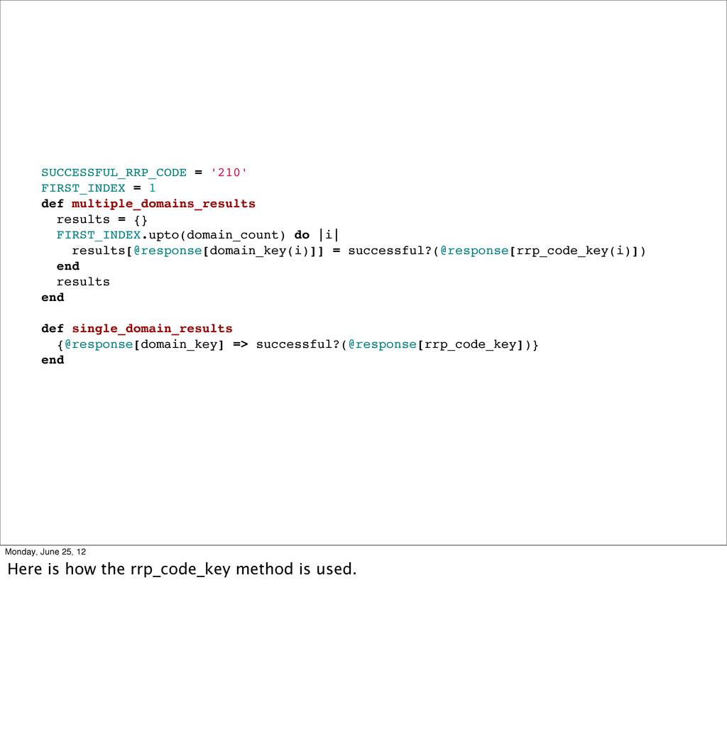 SUCCESSFUL_RRP_CODE = '210' FIRST_INDEX = 1 def...