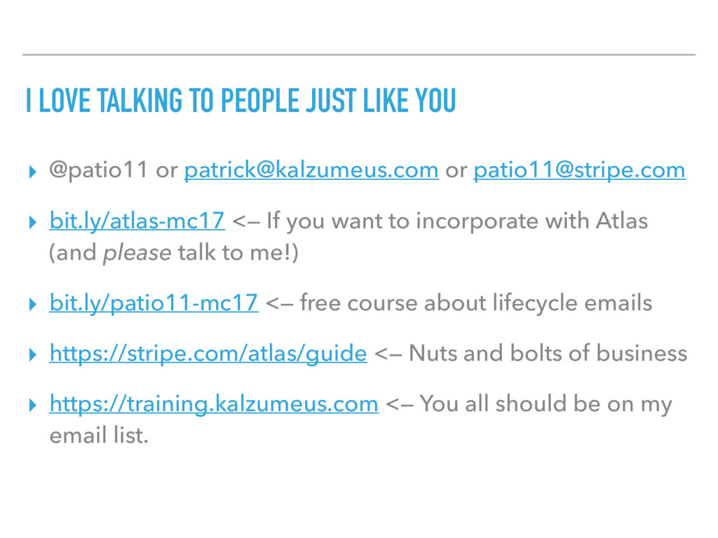 I LOVE TALKING TO PEOPLE JUST LIKE YOU ▸ @patio...