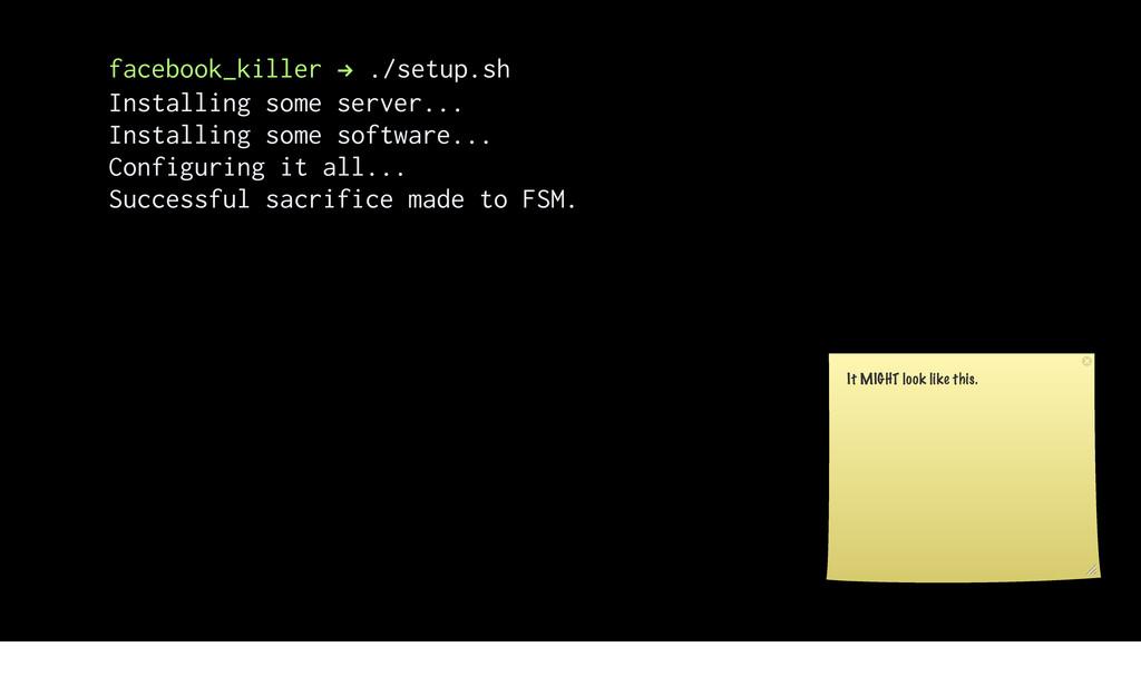 facebook_killer ! ./setup.sh Installing some se...