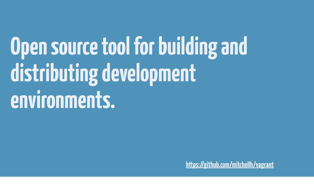 Open source tool for building and distributing ...