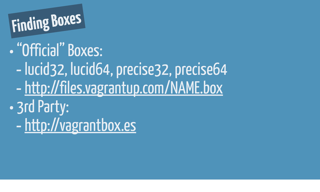 """Finding Boxes • """"Official"""" Boxes: - lucid32, lu..."""