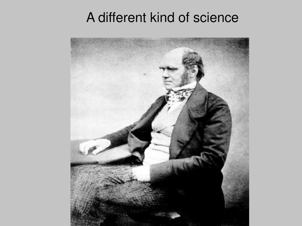 A different kind of science