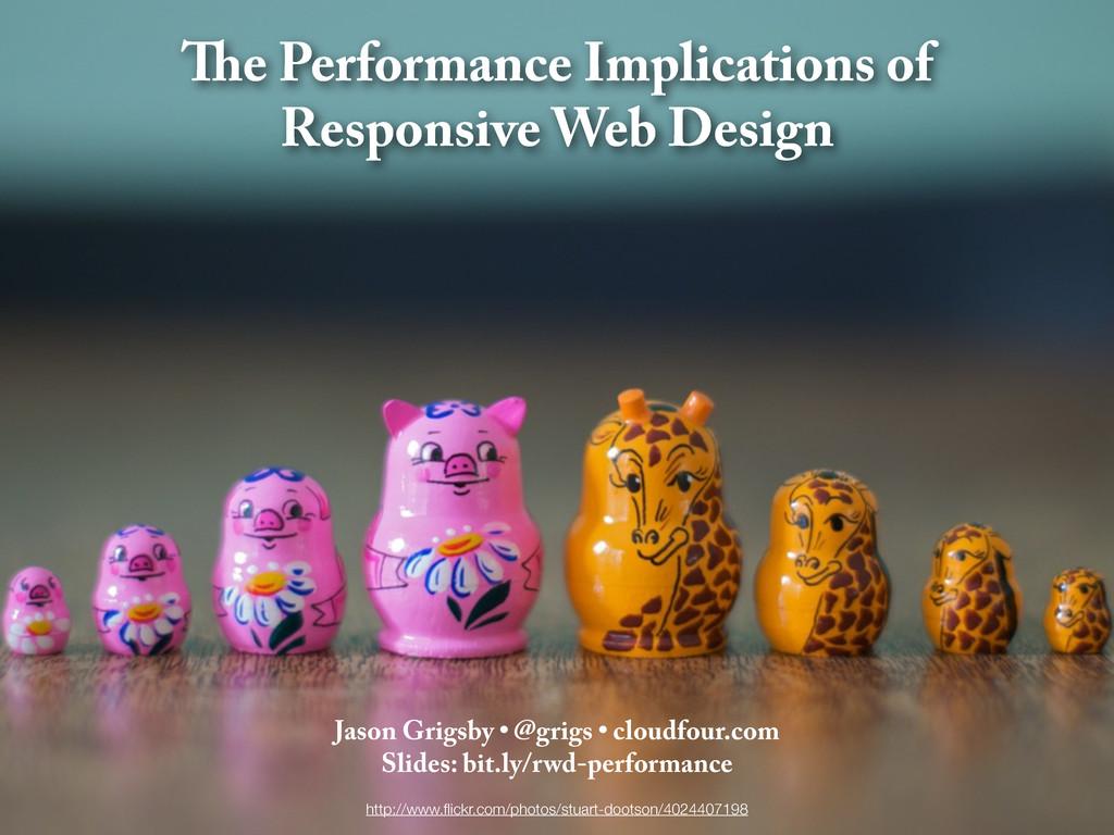 e Performance Implications of Responsive Web De...