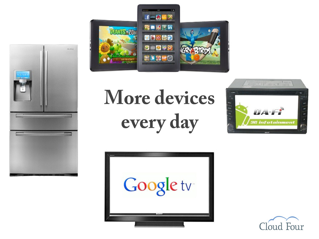 More devices every day