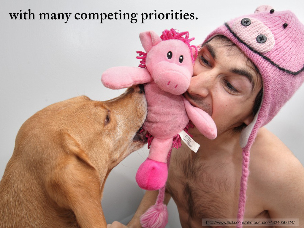 with many competing priorities. http://www.flick...