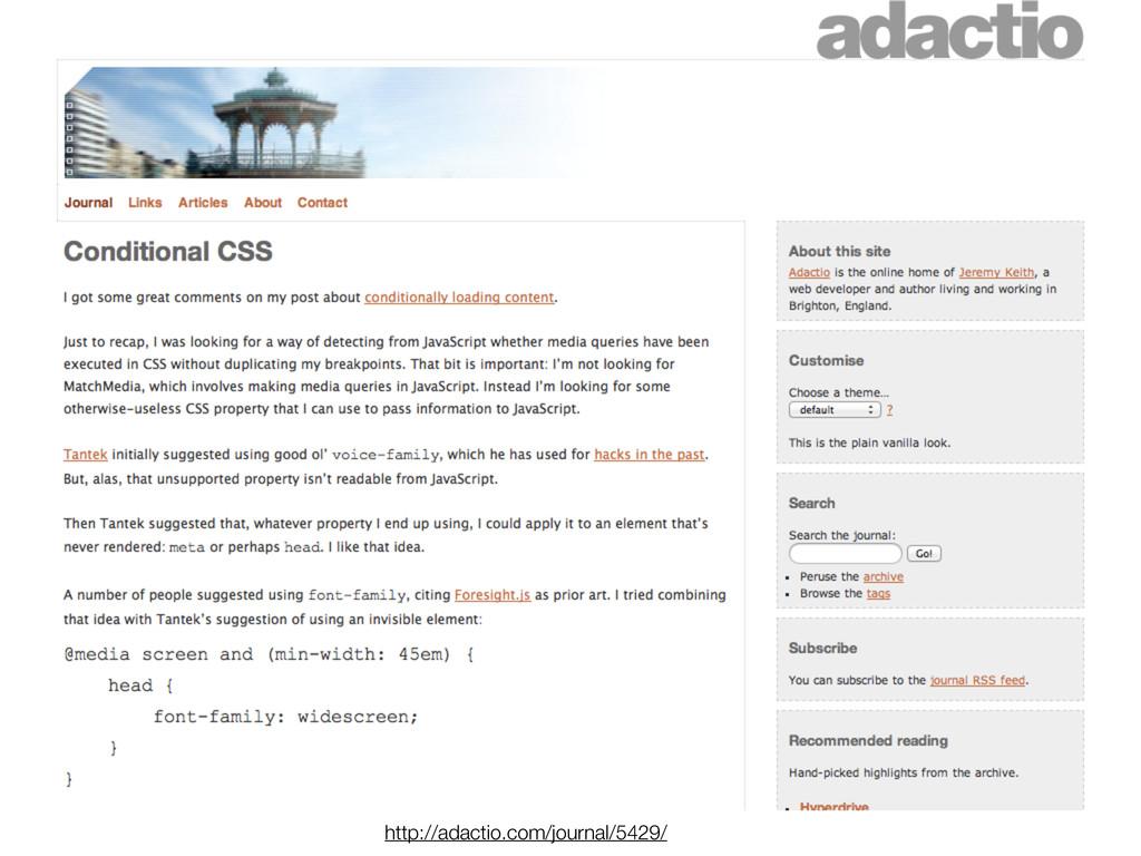 http://adactio.com/journal/5429/