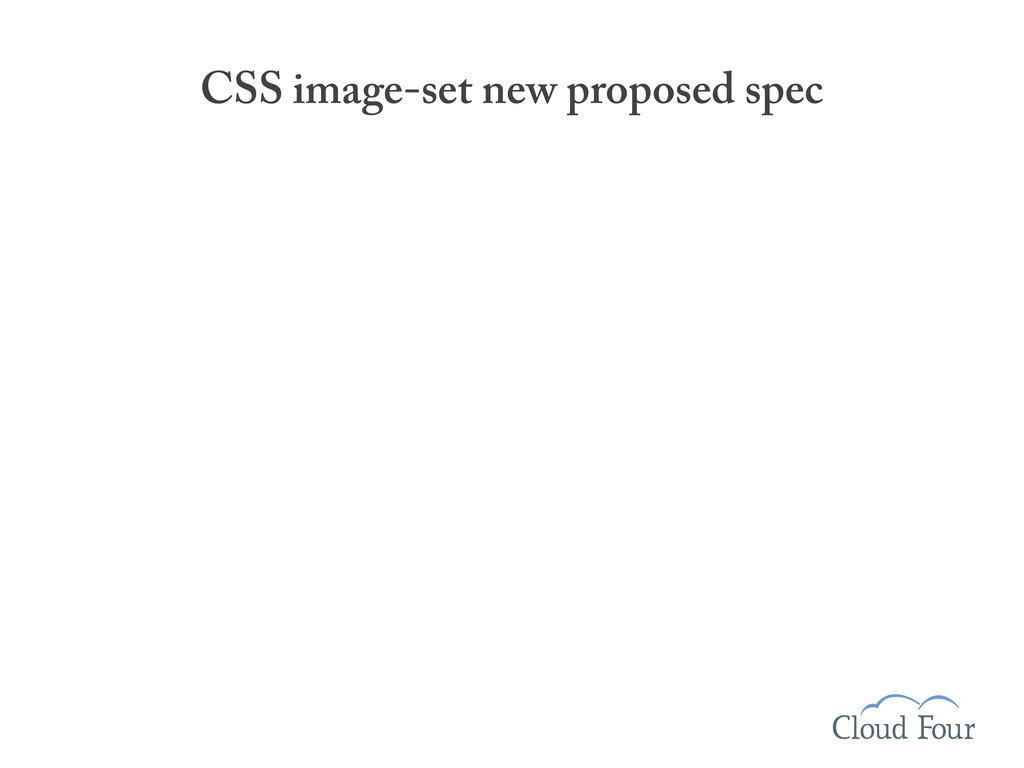CSS image-set new proposed spec