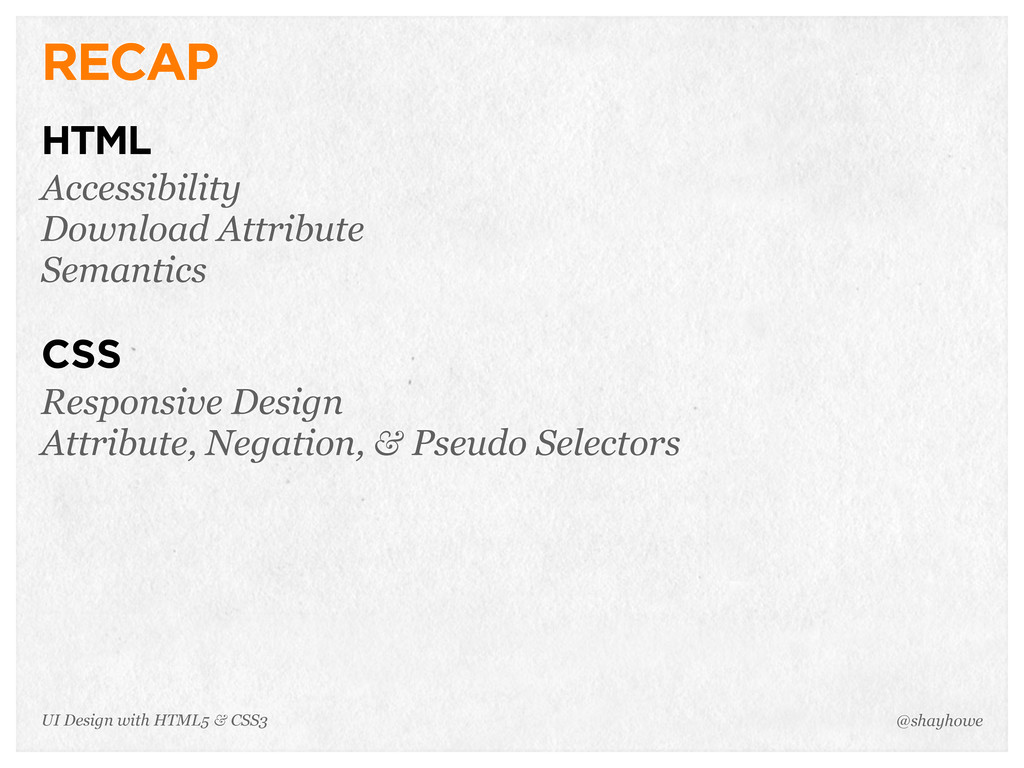 RECAP HTML Accessibility Download Attribute Sem...
