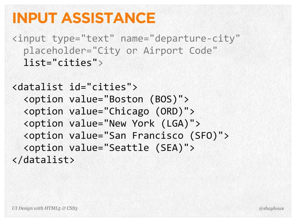 """INPUT ASSISTANCE <input type=""""text"""" name=""""dep..."""