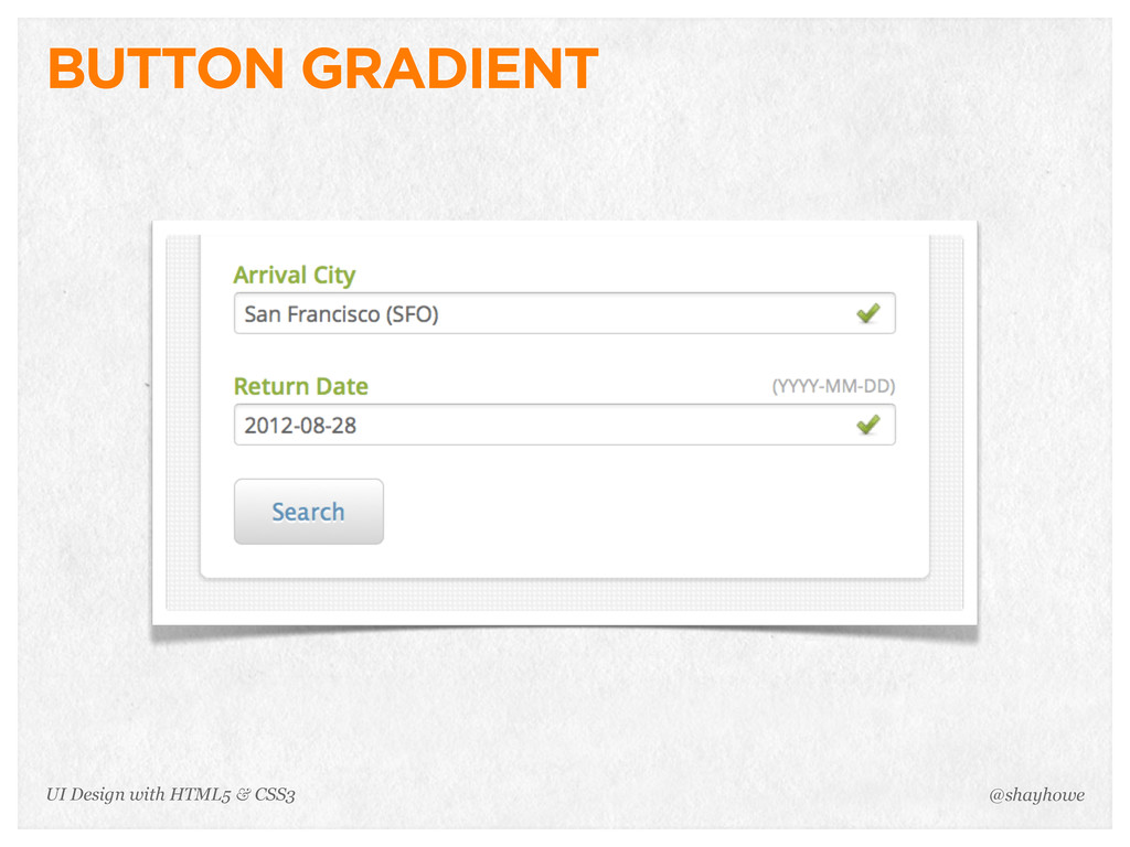 BUTTON GRADIENT @shayhowe UI Design with HTML5 ...