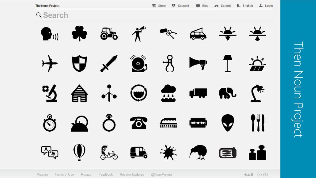 Then Noun Project