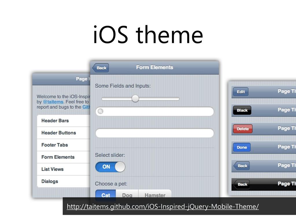 iOS theme http://taitems.github.com/iOS-Inspire...