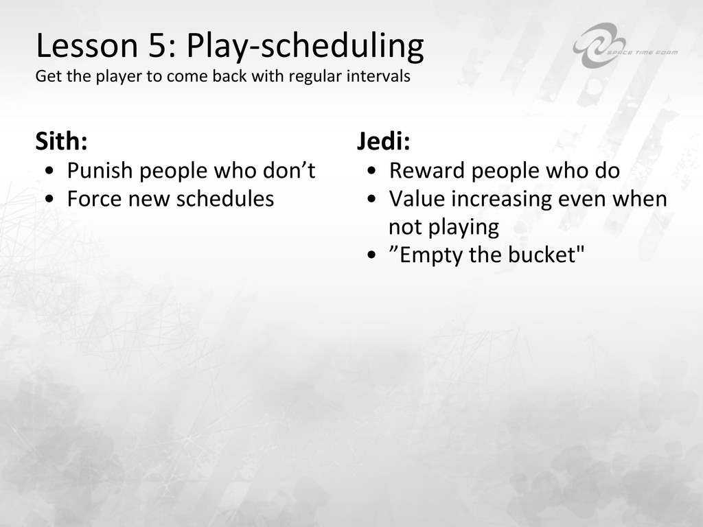 Lesson 5: Play-‐scheduling  Get th...