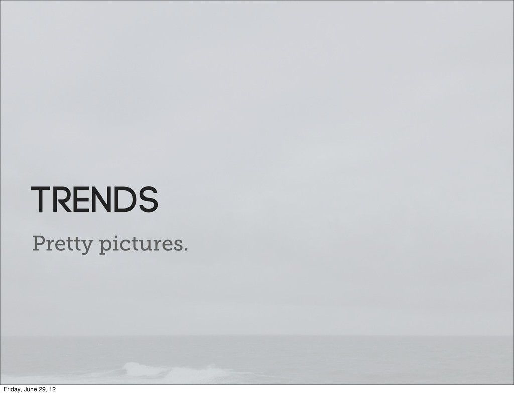 Pretty pictures. TRends Friday, June 29, 12
